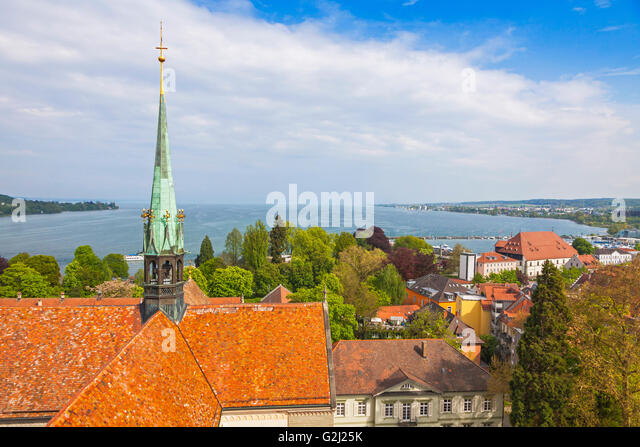 Cityscape view konstanz lake constance stock photos for Boden germany