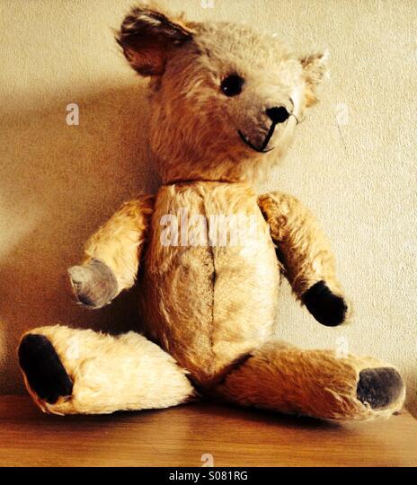 Old teddy bear - Stock-Bilder