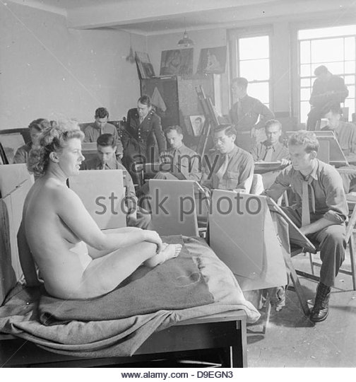 US Army University, Shrivenham, England, UK, 1945 D26032 - Stock-Bilder