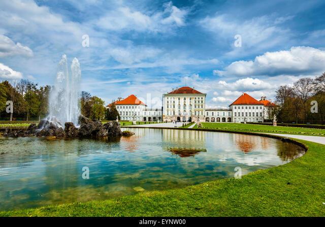 Nymphenburg Palace. Munich, Germany - Stock Image