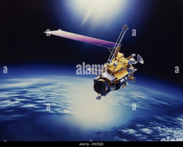 Upper Atmosphere Research Satellite (UARS) - Stock Image