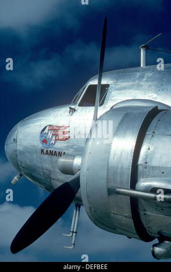 McDonnell Douglas DC-3 aircraft - Stock Image
