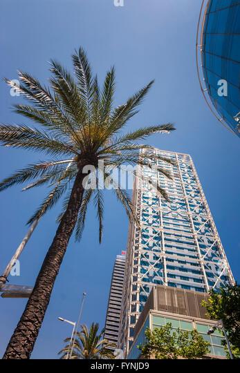 Hotel des Arts, Barceloneta, Barcelona, Spain - Stock Image