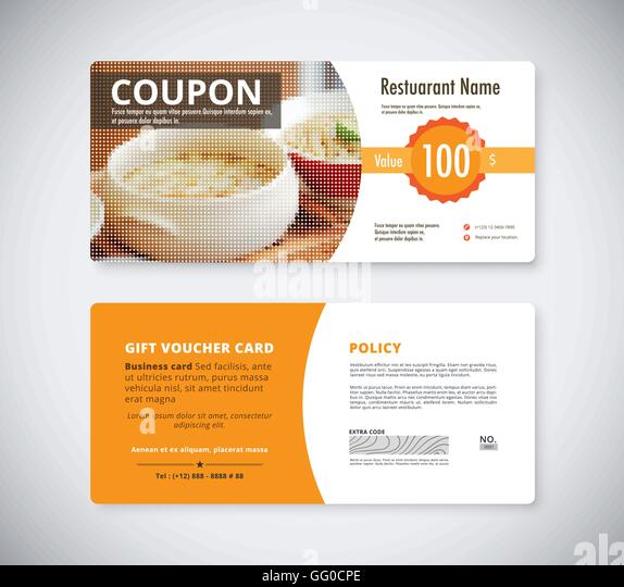 Fantastic Lunch Voucher Template Gallery Example Resume Food Gift ...
