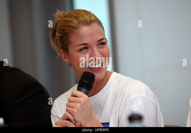 The launch of the BUPA Great Manchester Run 2009.  Gemma Atkinson.Picture: Chris Bull - Stock-Bilder