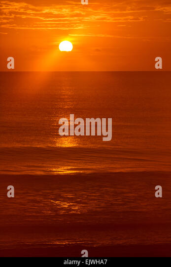 Sunrise - Indian Harbor Beach, Florida - Stock Image