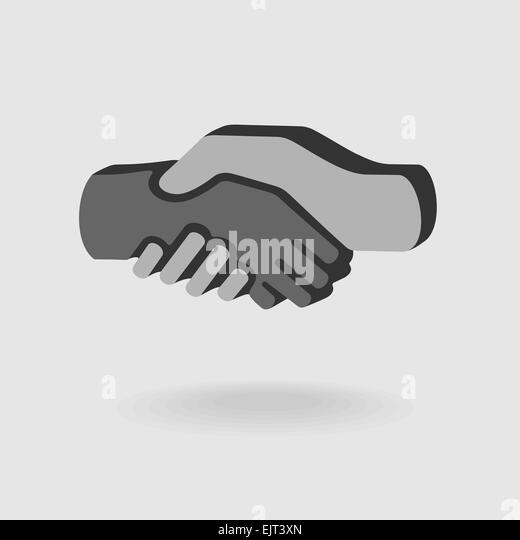 Symbol Handshake - Stock Image