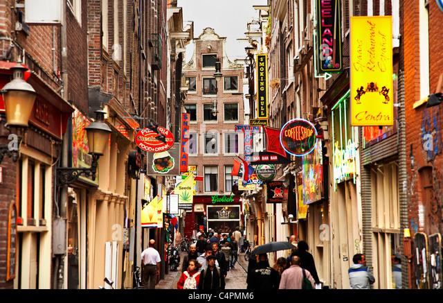 Bob Marley Coffee Shop Amsterdam