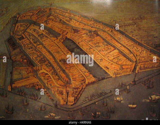 Cornelis Anthonisz. 003 cropped 01 - Stock Image