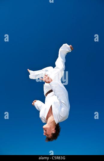 A Martial Artist - Stock-Bilder