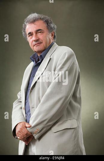 Philip Davis, professor of psychology, at the Edinburgh International Book Festival 2014. Edinburgh, Scotland. 21st - Stock Image