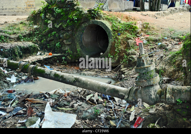 Old Drainage Pipes Stock Photos Amp Old Drainage Pipes Stock