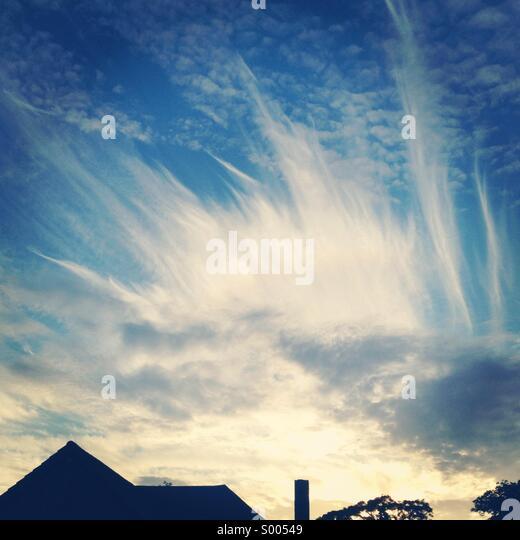 Amazing sky - Stock-Bilder
