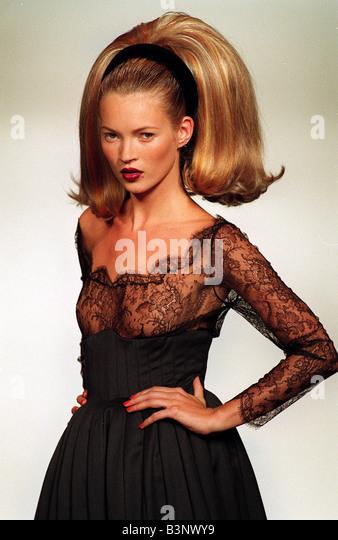 Catwalk Model Kate Moss Stock Photos & Catwalk Model Kate ...