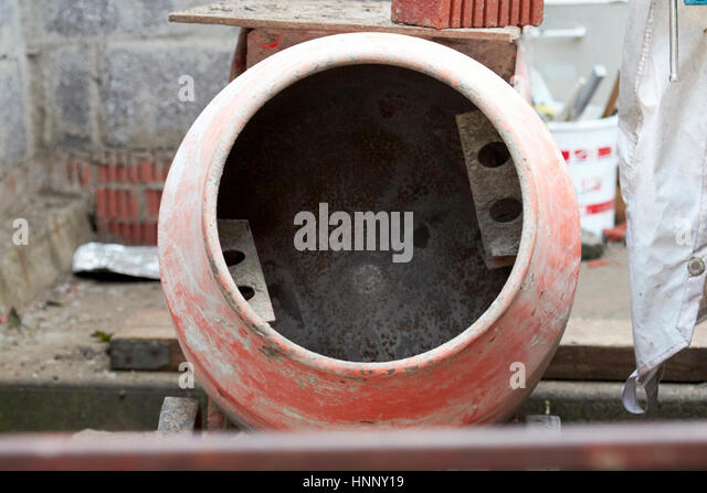 Old concrete mixer mixer stock photos old concrete mixer for Household cement