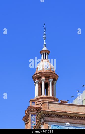 Spain travel background - Stock-Bilder