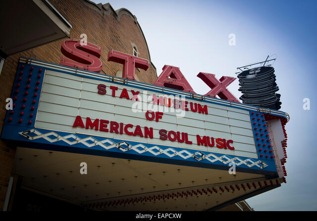 Stax Soul Museum, Memphis Tennessee - Stock Image