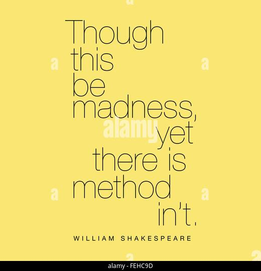 An analysis of madness in the play hamlet by william shakespeare