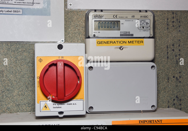 how to read electricity meter solar