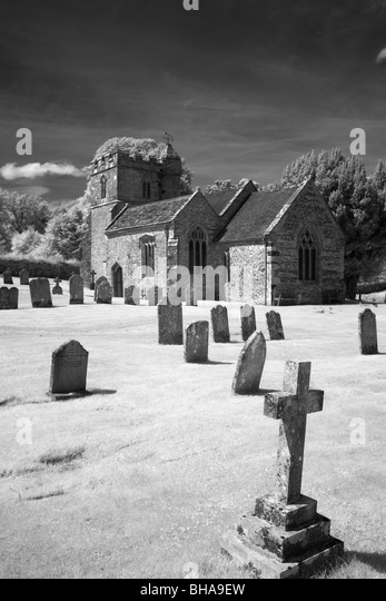 church in Dorset, England, UK - Stock-Bilder
