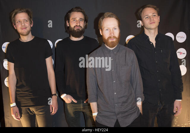 Celebrities attending the Hans Award 2016 at Club Markthalle  Featuring: Enno Bunger Where: Hamburg, Germany When: - Stock Image