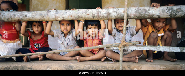 Indien, 2010-10-01, Kinder in Mumbai © Gerhard Leber - Stock-Bilder