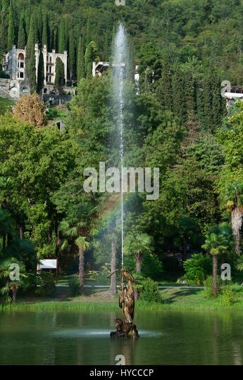 Old fountain, Old Gagra, Abkhazia, August 31, 2016 - Stock Image
