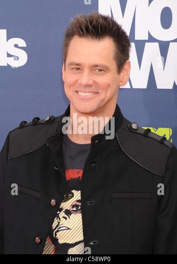 JIM CARREY US film actor in June 2011. Photo Jeffrey Mayer - Stock-Bilder