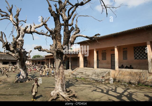 Primary school, Lome, Togo, West Africa, Africa - Stock-Bilder