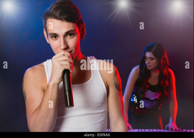 Band With Female Singer Stock Photos & Band With Female ...