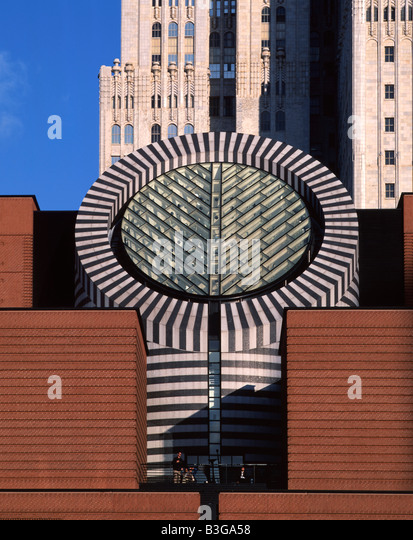 USA California San Francisco Downtown Museum of Modern Art MOMA by swiss architect Mario Botta - Stock Image
