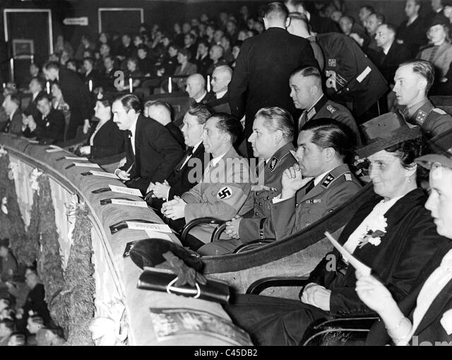 Movies in the 3rd Reich - Stock Image