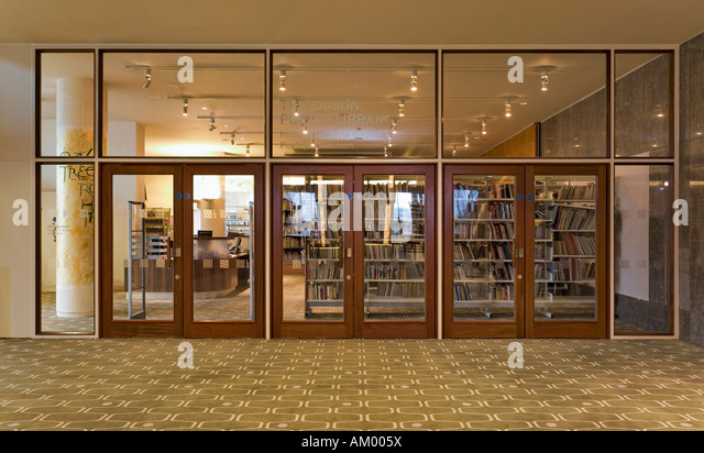 Poetry library stock photos poetry library stock images for Bank ballroom with beautiful mural nyc