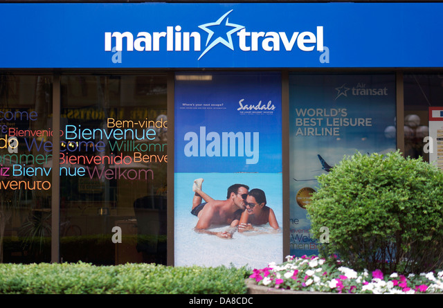 Marlin Travel, Travel Agent, Agency, Toronto - Stock-Bilder