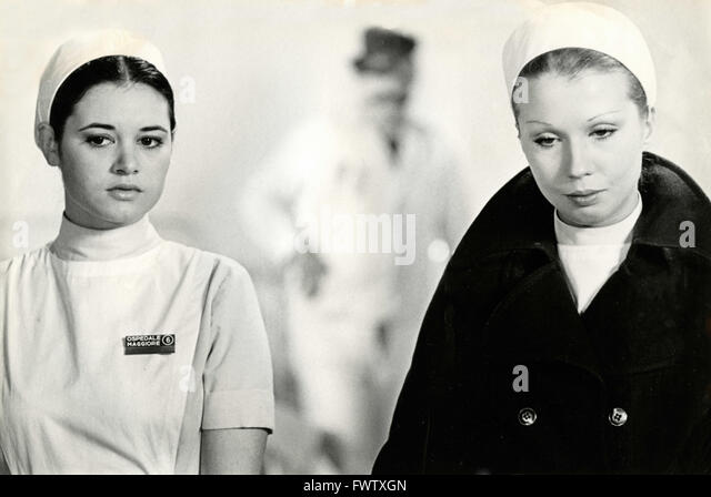 Teresa Rabal and Valentine in the movie White, Red and .., Italy 1972 - Stock Image