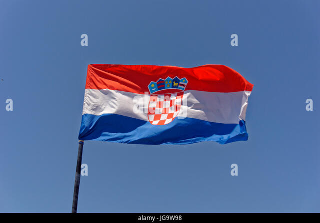Flag Croatia Stock Photos & Flag Croatia Stock Images - Alamy