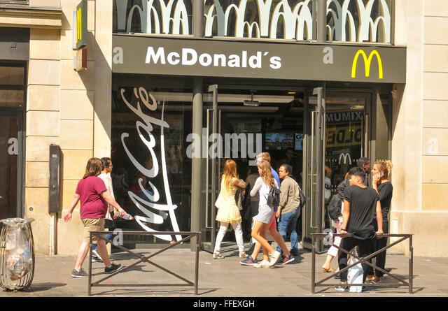 Fast Food Near Paris Hotel Las Vegas