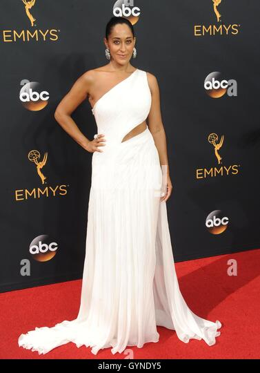 Los Angeles, CA, USA. 18th Sep, 2016. Tracee Ellis Ross at arrivals for The 68th Annual Primetime Emmy Awards 2016 - Stock-Bilder