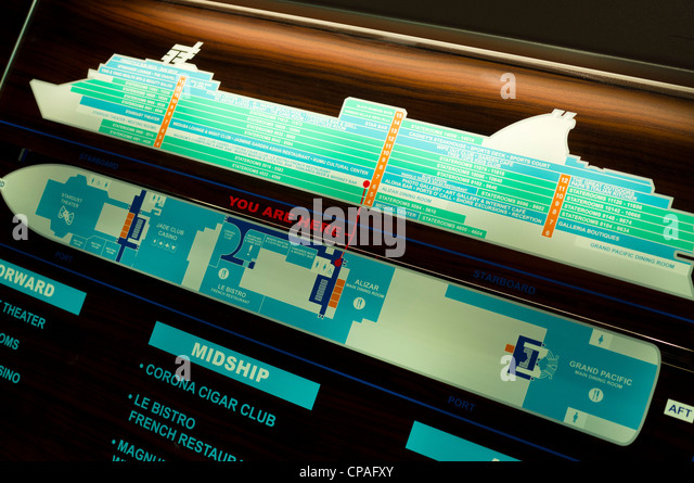 Deck Plan Stock Photos Amp Deck Plan Stock Images Alamy