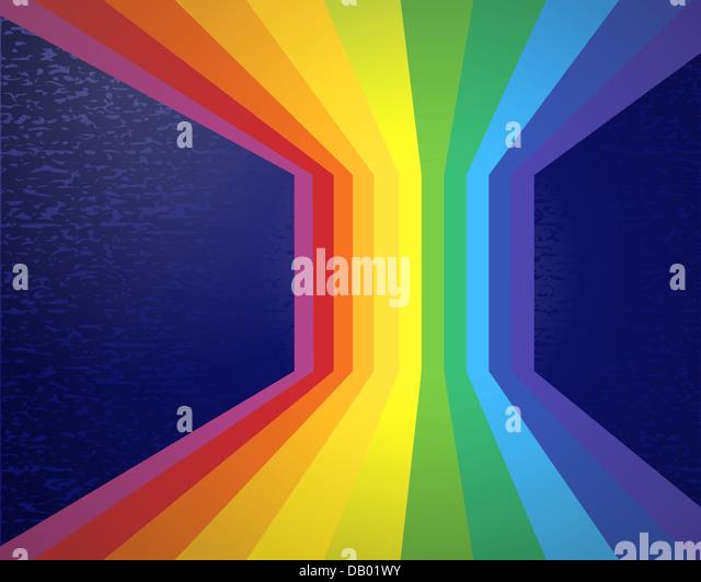 Abstract rainbow. - Stock-Bilder