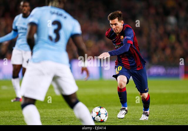 Barcelona, Spain. © D. 18th Mar, 2015. Barcelona, Spain. 18th March, 2015. Lionel Messi (Barcelona) Football/Soccer - Stock-Bilder