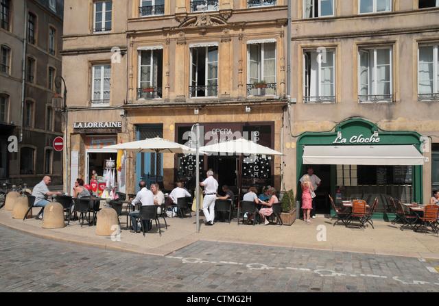 Metz france street stock photos metz france street stock images alamy - Restaurants place de chambre metz ...