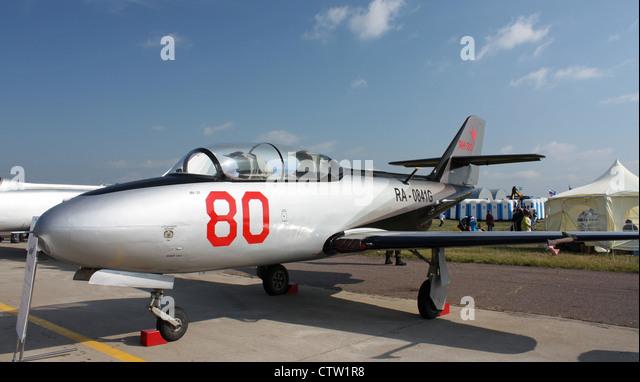 Yakovlev Yak-30 (The international aerospace salon MAKS-2009 - Stock Image