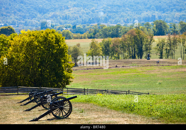 Antietam Civil War Battlefield, Virginia USA - Stock Image