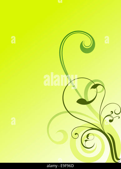 abstract swirls background - Stock Image