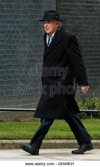 Britain's Secretary of State for Business Vince Cable arrives for a pre budget cabinet meeting at Number 10 - Stock Image