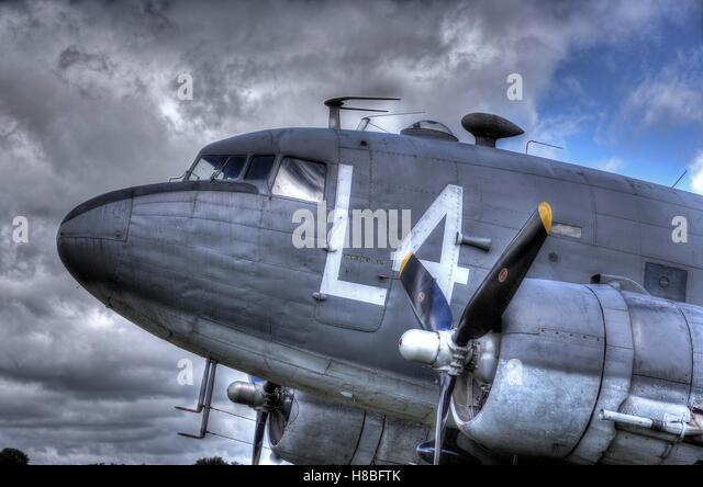Douglas C-47 Skytrain - Stock Image