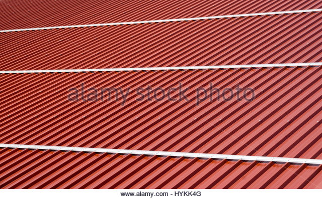 Tin roofing stock photos tin roofing stock images alamy for Modern roofing materials