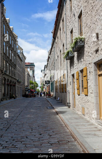 Old Quebec City, Canada - Stock Image