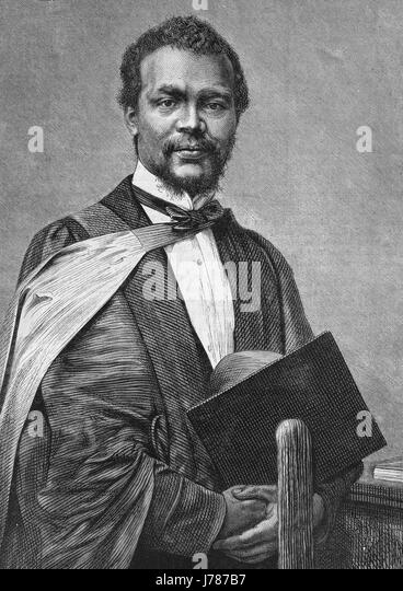 CHRISTOPHER JAMES DAVIS (1842-1870) Physician born in Barbados who died of smallpox while a volunteer doctor in - Stock-Bilder